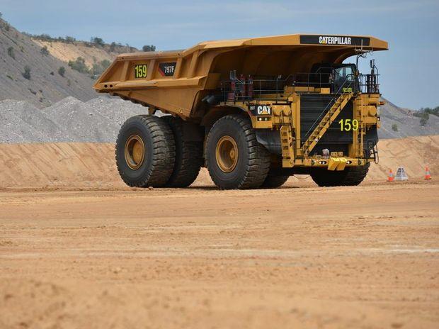 Caval Ridge Mine, west of Mackay.