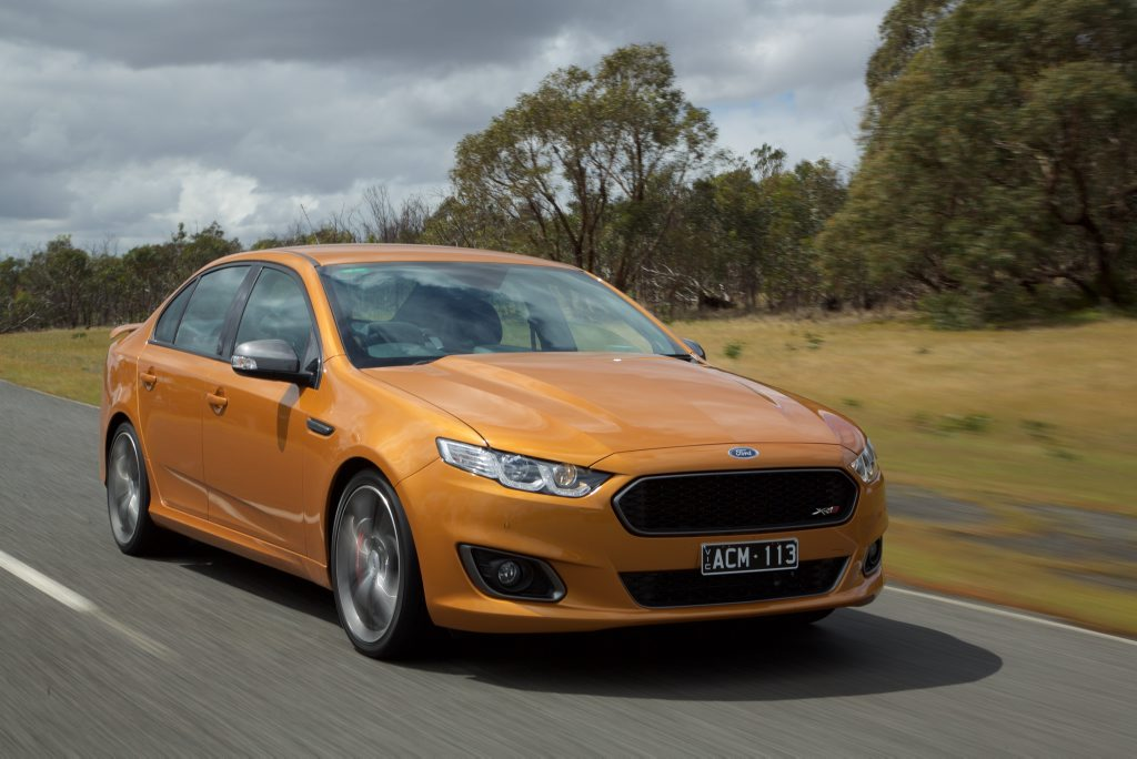 On borrowed time: Falcon XR8 is a fine final effort before the badge is retired for good.