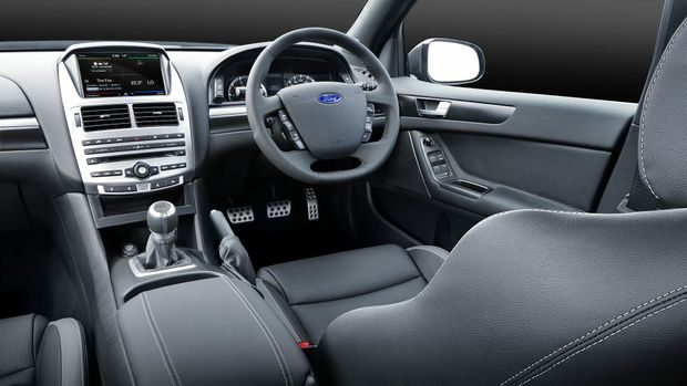 2015 Falcon XR8 cabin is subtle, but it's here you control the V8 beast