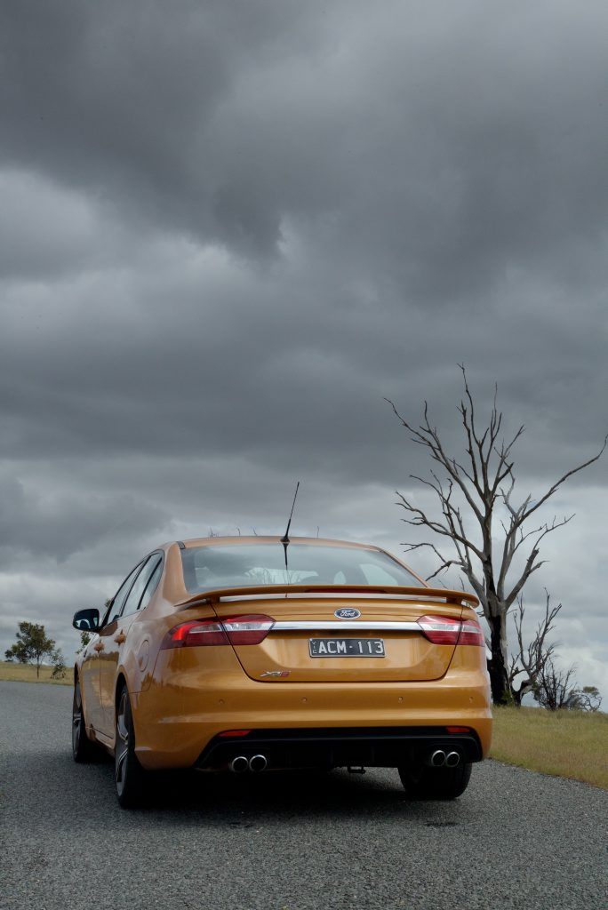 Falcon XR8 good for 335kW and 570Nm of torque from its 5.0-litre V8.