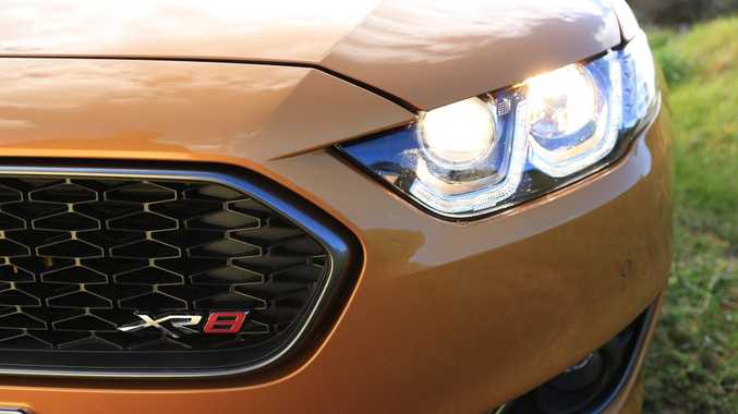 Last of its kind: The 2015 Ford Falcon XR8.