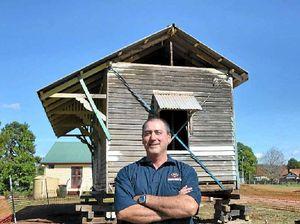Historic railway relic has made a move to Blackbutt