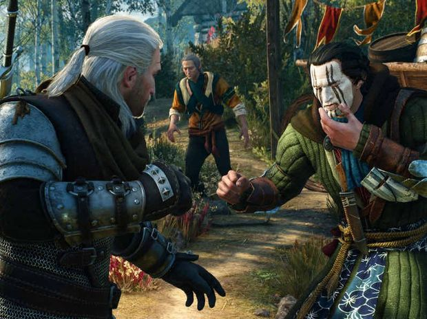 ENTERTAINING: The Witcher III manages to have a combat system that is both visceral and quick.