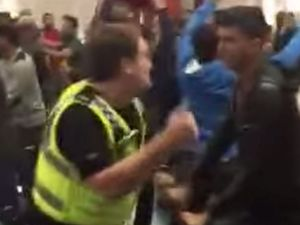 VIDEO: Watch as brawl breaks out at UK community centre