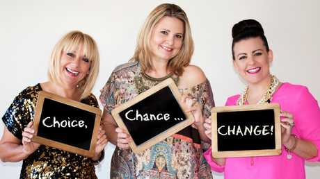 Alli Grant and Julie Cross are inspirational entertainers who live to help people (especially women) feel less alone and more normal with their real, raw, honest approach to telling it like it is. The duo created their show, 'Make a Choice, Take a Chance, Be the Change', with Rach Teirnan joining for the Maroochydore show in June.