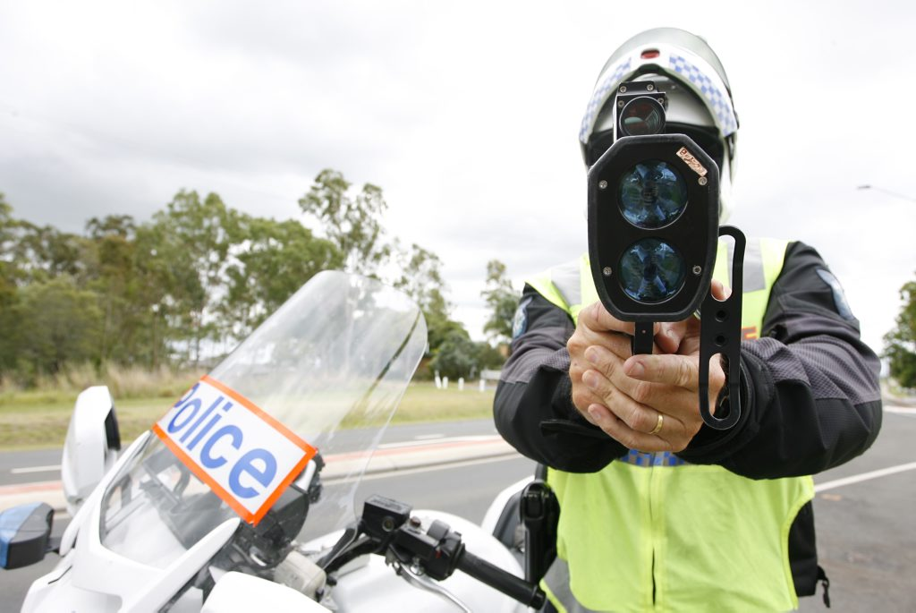 Police speed detection has been brought under fire after a driver copped a $151 fine and one demerit point for doing the speed limit.