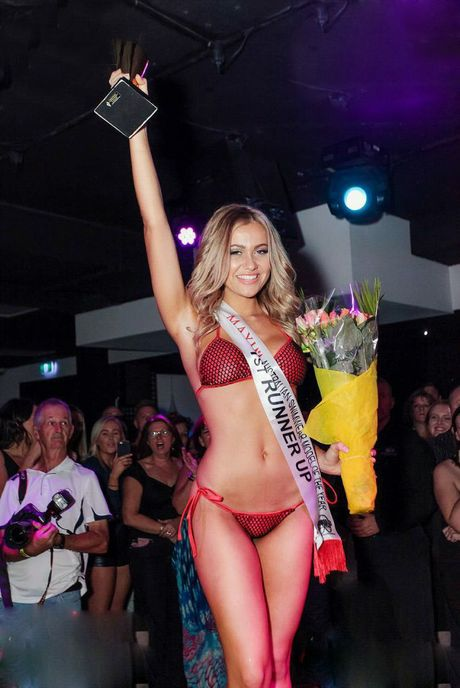 Ariana Deeley represented Ipswich at the Maxim Australian Swimwear Model of the Year competition and placed 1st runner up. Please credit: Lexi Smith from Mr & Mrs Smith Photography / Contributed