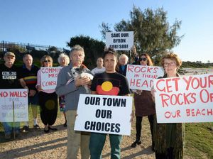 Angry Byron residents plan to withhold rates over rock wall