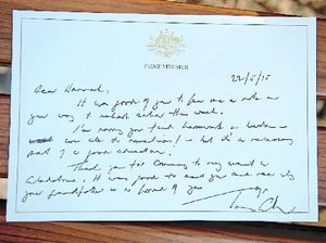 VIDEO: Student gets reply letter from PM Tony Abbott