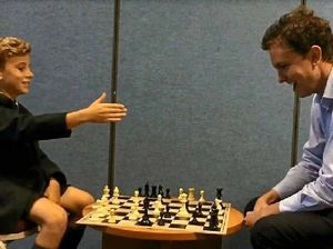A nine-year-old smiling assassin thrashed me in chess