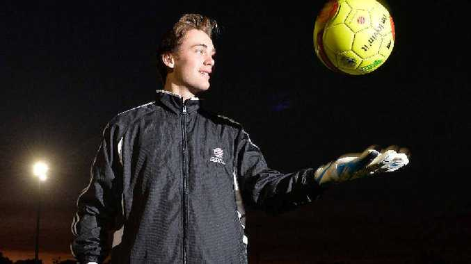 INVITED: Josh Wall, Fire under-16's goalkeeper, has been invited to join the Joeys training camp this month.