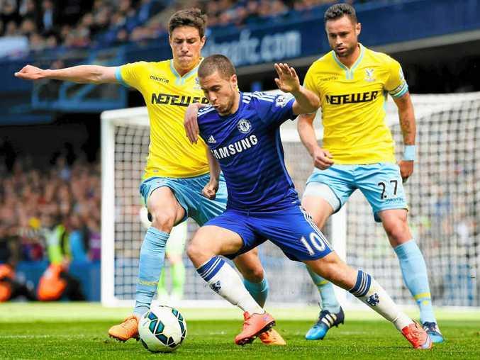 GARDEN OF EDEN: Eden Hazard is ready to dazzle for EPL champion Chelsea, which plays Sydney FC tonight at ANZ Stadium.