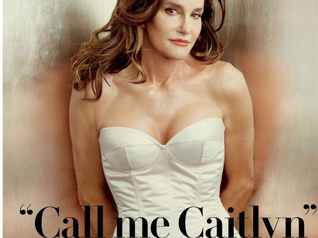Caitlyn Jenner as she appeared on Vanity Fair.