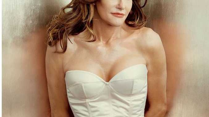 Caitlyn Jenner as she appeared on Vanity Fair.