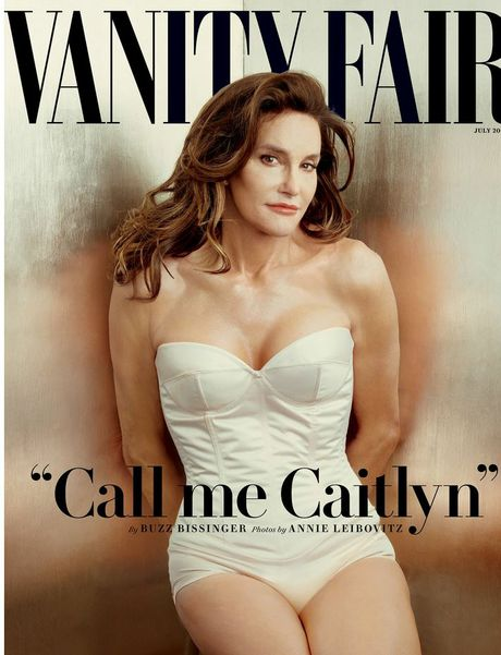 Caitlyn Jenner, formerly Bruce Jenner, appears on the cover of Vanity Fair