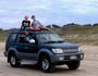 4WD hoons on beach put pedestrians at risk