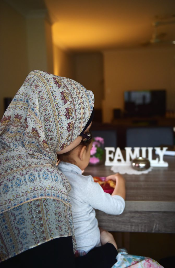 Nambour's Chloe Sinclair is born and bred on the coast. She says there are too many myths about Muslims. She does not want to be identified in this photo. Photo: Brett Wortman / Sunshine Coast Daily