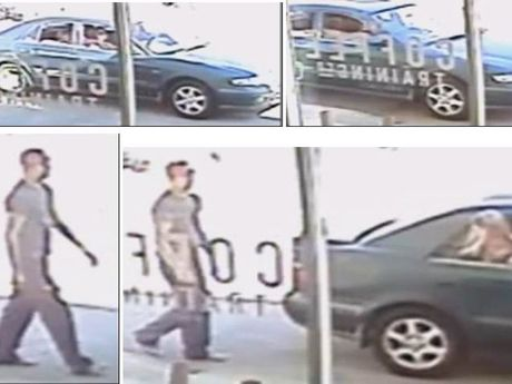 Police are believe this man could help them with inquiries into the theft of two large pot plants from the front of a Venture Dr business in Noosaville about 12.15pm on May 10. Photo Contributed