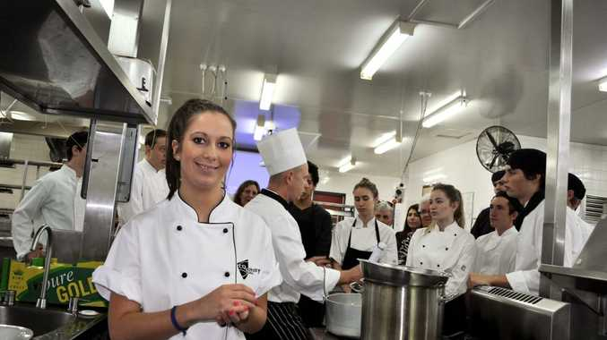 MasterChef Australia runner-up Laura Cassai visited the CQUniversity campus to present a series of free cooking demonstrations