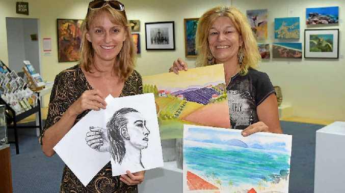 CREATIVE: Linda Forrester and Sharon Dewsbury.