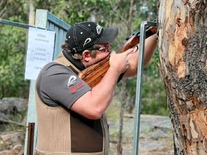 Shooters line up at Cherrabah