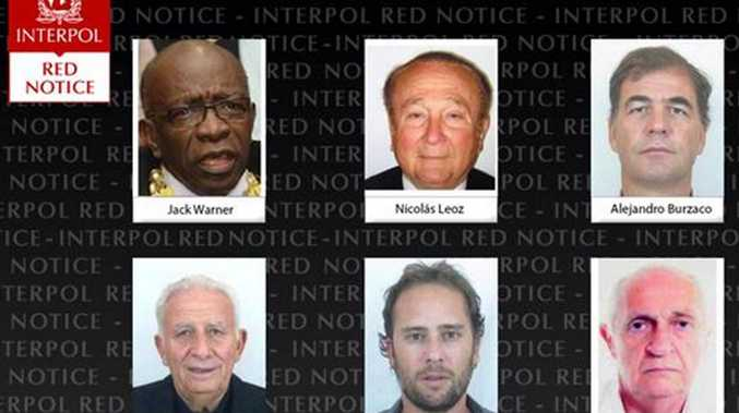 The 'Red Notices' included former Ex-Co members Jack Warner and Nicolás Leoz