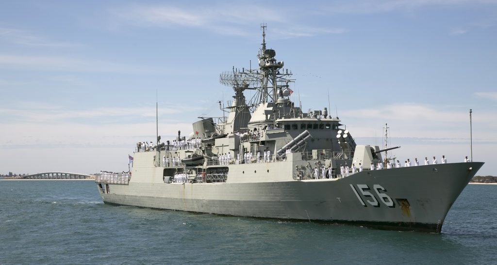 HMAS Toowoomba served a five month deployment to the Middle East Region last year.