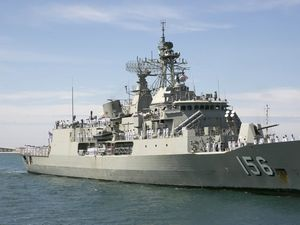 Australian and NZ ships hamper terrorism drug revenue