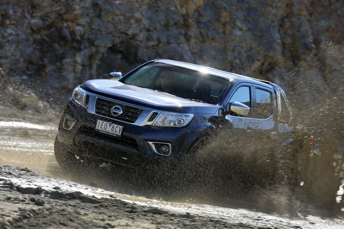 New Navara boasts considerable off-road abilities