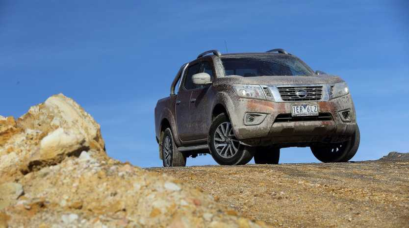 PLAYING DIRTY: 2015 Nissan NP300 Navara is all new and ready to fight its hard-hitting rivals
