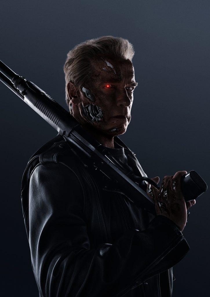 He's back: Arnold Schwarzenegger in a scene from Terminator Genisys.