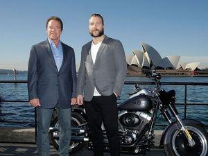 Arnie and Jai Courtney bring Terminator Genisys to Sydney