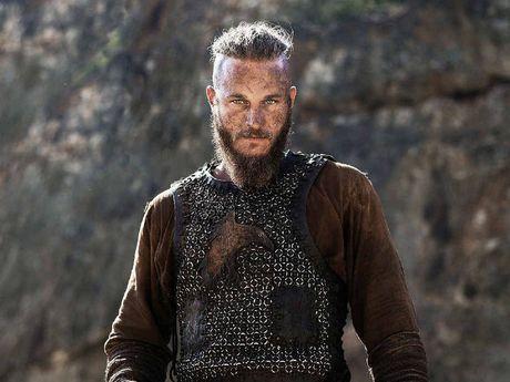 A supplied image of Australian actor Travis Fimmel as Ragnar Lothbrok on the SBS series Vikings.