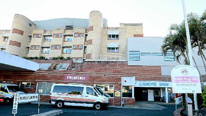 HEALTHY GLOW: Lismore Base Hospital figures are improving.