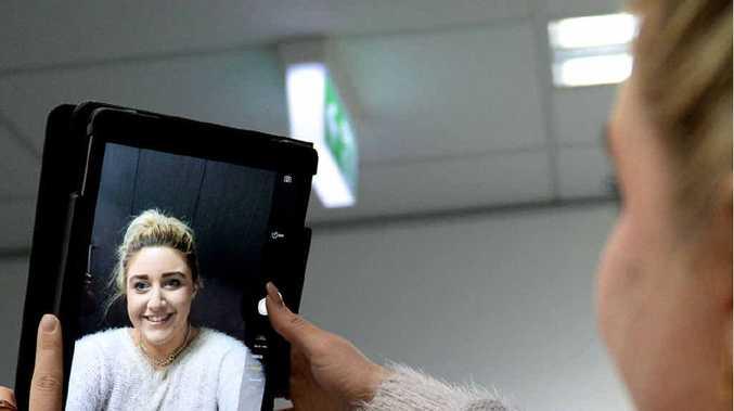 IN FOCUS: Melanie Plane is The Morning Bulletin's selfie queen.