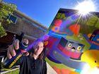 WATCH: Street art project, music, markets at Maroochydore