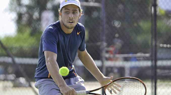 Callum Puttergill is preparing to try and win a third straight Gladstone Tennis Open crown.