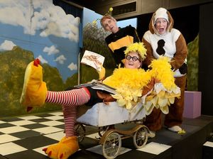 Cackling cast ready for top kids' play