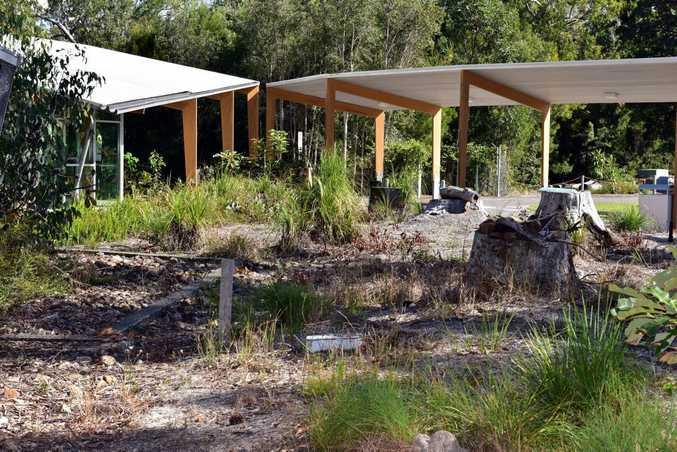 Taxes wasted as State of the Art Campus at Tewantin TAFE sits abandonded. Photo Geoff Potter / Noosa News