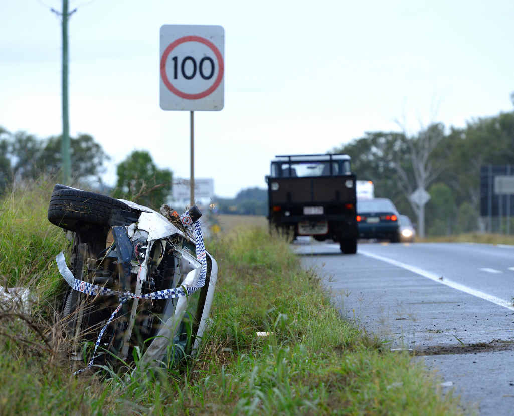 CRASH SITE: The Cunningham Highway is one of the top crash zones in the Ipswich region.