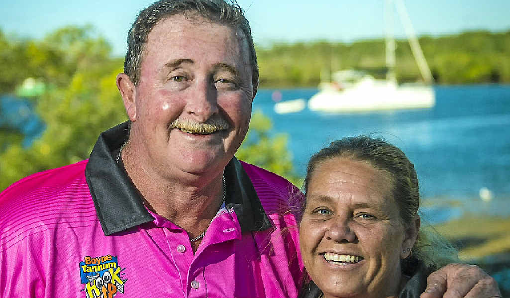 Couple Ned and Kris Beaumont are the Boyne Tannum HookUp's longest serving volunteers.