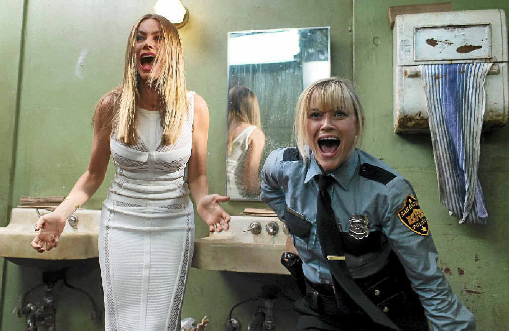 Sofia Vergara and Reese Witherspoon in a scene from Hot Pursuit.