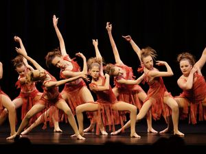 Dancers take centre stage