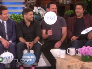 Entourage stars play 'Never have I ever' with Ellen