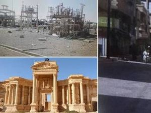 Isis slaughter in the sacred city of Palmyra revealed