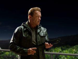 Arnie takes on Arnie in Terminator Genisys