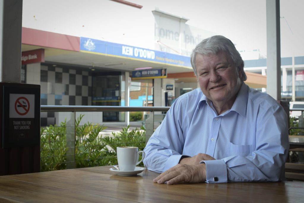 Ken O'Dowd wants Australia to have a conversation about the right to die.