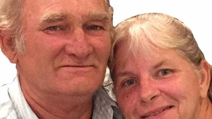 BATTLE LOST: Stan Brady and his wife Gail celebrated their 42nd wedding anniversary in hospital.