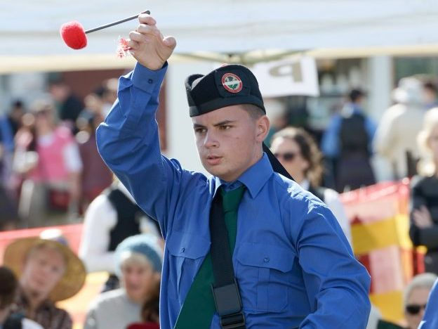 All the action at the Queensland Pipe Band Championships held at Bill Paterson Oval on Saturday. Photo: Rob Williams / The Queensland Times