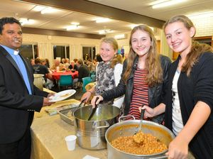 Curry night helps set up men's shelter for needy